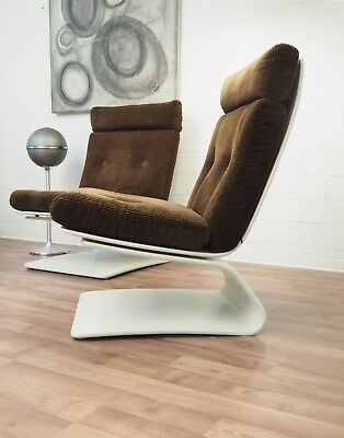 60er / 70er COR Freischwinger Sessel, Easy Chair Peter Chyczy