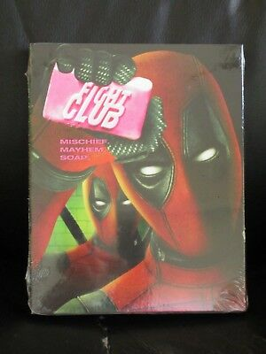 Fight Club Deadpool Photobomb Blu-Ray Slip Cover Walmart Exclusive New Sealed