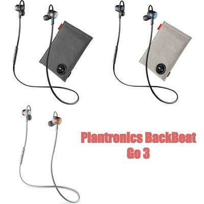competitive price 477e7 027a8 PLANTRONICS BACKBEAT GO 3 Wireless Neckband Bluetooth Headphones + Charge  Case