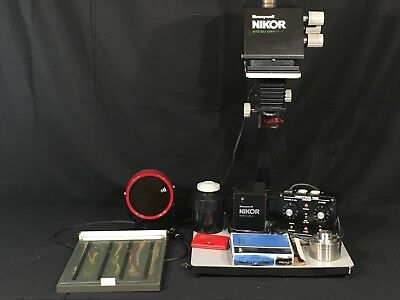 Nikor Honeywell 6x7 Film Vintage Dark Room Equipment Plus Accessories