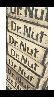 1 Very Rare Vintage Dr Nut Wood Soda Pop Crate Jennings LA