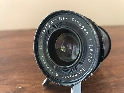 Schneider Kreuznach Arriflex Cinegon 10mm f/1.8 for 16mm motion picture cameras