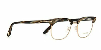 d6060a7fb67 NEW AUTHENTIC TOM FORD TF5342 063 Black Horn Unisex s Eyeglasses 49mm ITALY