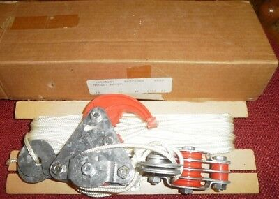 Haltrac Midget Hoist Made in England Pulley