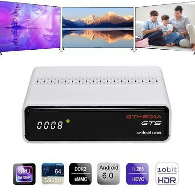 GTMedia GTS Satellite TV Receiver Android WiFi UHD 4K Set-top Box Media Player