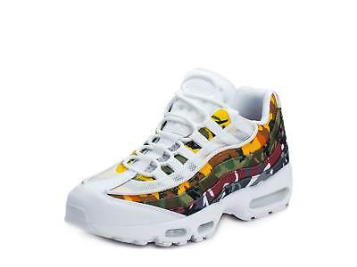 38c80a274 NIKE MENS AIR Max 95 ERDL Party White Multi-color AR4473-100 ...