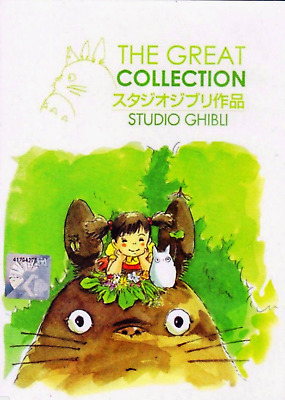 Anime DVD The Great Collection Studio Ghibli 21 Movies Complete  ENGLISH DUB wht