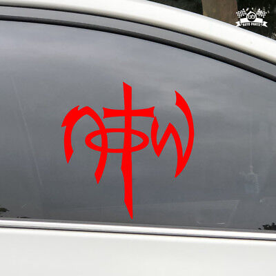Not of This World NOTW Car Sticker White Vinyl Decal choose size 2/'/' 6/'/' 20/'/'