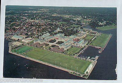 D1159fig16 USA US Naval Academy Annapolis Maryland pu1989 postcard