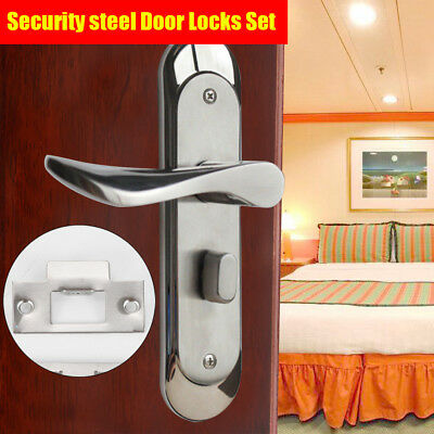 best Stainless Steel Privacy Door Security Entry Lever Mortise Handle Locks Set