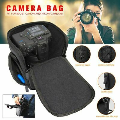 DSLR SLR Waterproof Camera Bag Shoulder Carry Case Box For Canon EOS Nikon Sony
