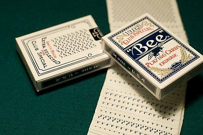 Erdnase 1902 Bee Playing Cards - Blue Smith No. 2 Back