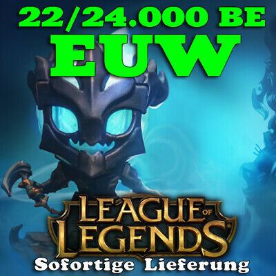 League of Legends Account LOL | EUW | Level 30 | 20000+ BE | 20k+ | Unranked PC