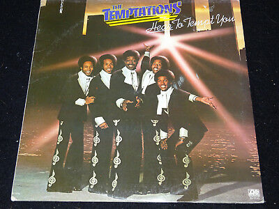 THE TEMPTATIONS hear to tempt you Vinyl Schallplatte gewaschen