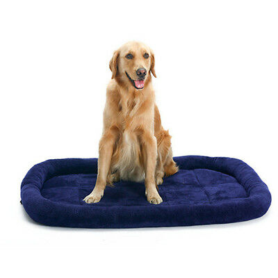 Pet Bed Solid Color Deluxe Dog Bed Pet Washable Warm Comfort Soft Cushion Bunty