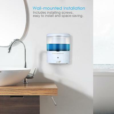 700ml Automatic Soap Dispenser Wall-Mounted IR Sensor Liquid Hand Cleanser T9Q4