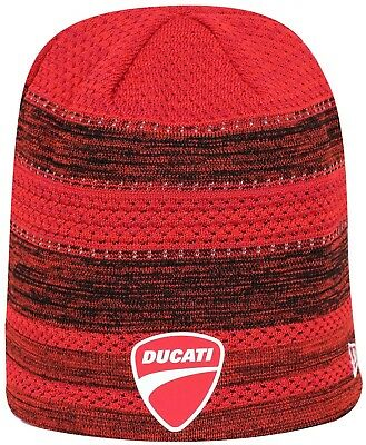 NEW ERA - Ducati FA18 Engineered Knit Scull Beanie - Rot - EUR 23 0d3acc22d7a0