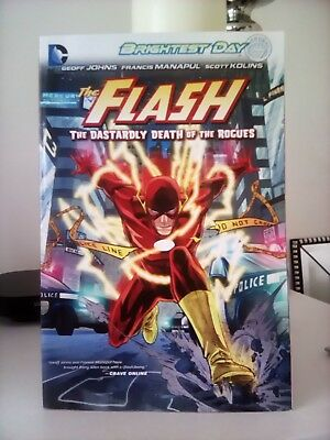 "The Flash Graphic Novel "" The Dastardly Death Of The Rogues "" DC Comics."