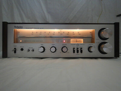 Vintage Panasonic Technics SA-200 AM/FM Stereo Receiver Fully Tested and Working