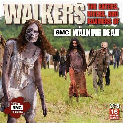 AMC™ The Walking Dead The Eaters, Biters, And Roamers 2019 Calendar