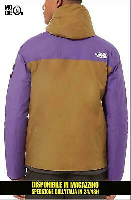 Giacca The North Face mountain jacket 1990 thermoball verde viola purple  uomo 4feca9388db2