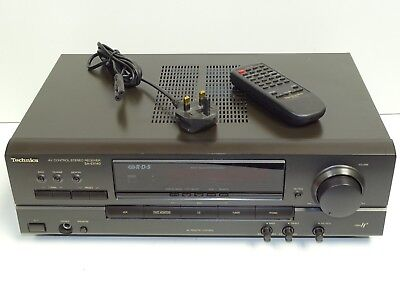 Technics SA-EX140 AV Control Built In Phono Stage Integrated Stereo Amplifier