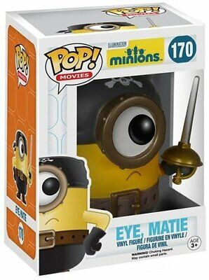Funko Pop! Minions Movie Eye Matie Vinyl Figure