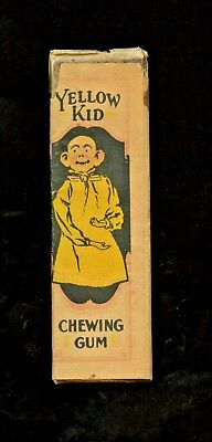 """""""Yellow Kid"""" Chewing Gum Wrapper With Gum"""
