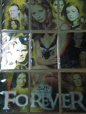 Buffy 10th anniversary 9 puzzle set + 9er pocket pages
