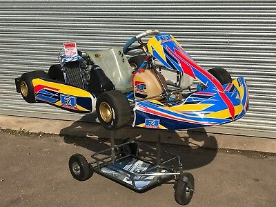2018 OTK ALONSO TONY KART 401s CHASSIS WITH ROTAX MAX SENIOR ENGINE - ROTAX -