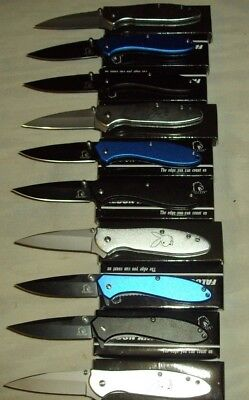 Lot of 10 pcs -Spring Assist Folding Knife