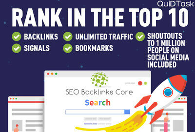 RANK IN THE TOP 10 - 10,000 Backlinks - 1500 Signals - UNLIMITED Traffic - SEO