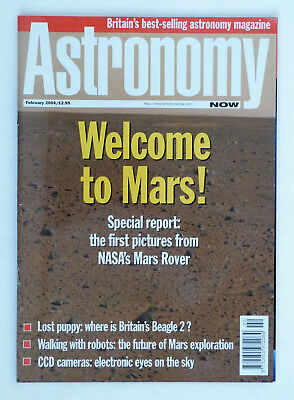 Astronomy Now Magazine: February 2004, Please see pictures & description.