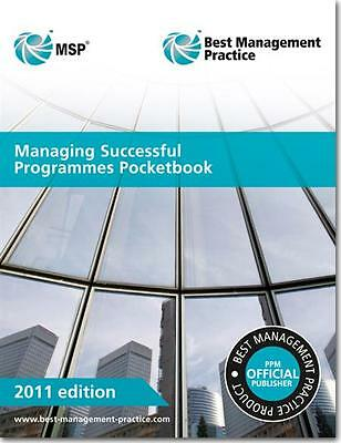 Msp - Managing Successful Programmes Pocketbook - New - Current Edition (2011)