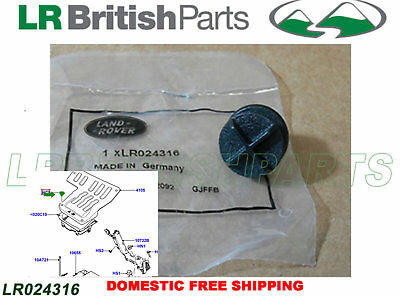 Genuine Land Rover Clip For Battery Cover Discovery Sport 2015 On Lr024316