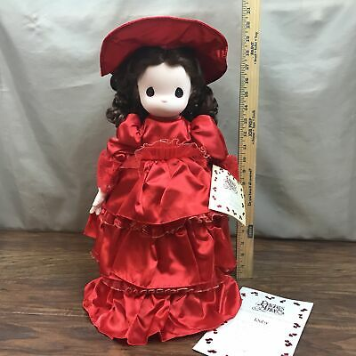 Precious Moments Precious Jewels Collection Doll New in Box + COA- RUBY Lot 6/11