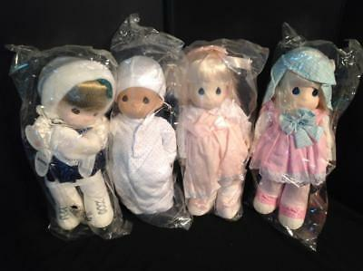 4 Precious Moments Dolls New in Bags. Katie, Missy, Jenna and Baby  Lot 9 of 11