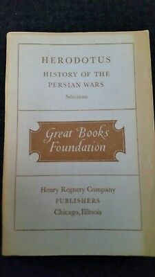 Herodotus History of the Persian Wars 1949 great books foundation