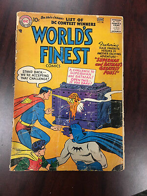 World's Finest #88 (1957) Poor