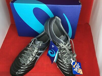ASICS SOCCER RUGBY Spike Shoes DS LIGHT WB 2 TSI754 Black Gray US6 ... 3d21e1a5f93