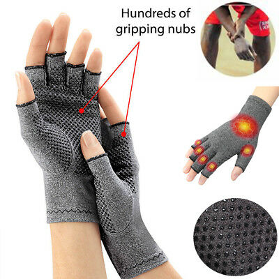 Carpal Tunnel Wrist Support Arthritis Therapy Compression Glove Hand Pain Relief