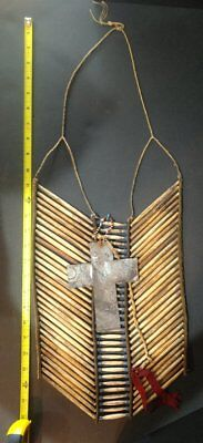 SIOUX CIRCA 1870's HAIR PIPE BREAST PLATE - CARL MOON COLLECTION