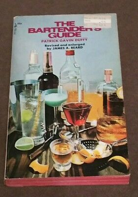 The Bartender's Guide Patrick Gavin Duffy Vintage Cocktail Book Bar Mixed Drinks