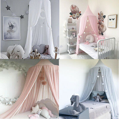 CURTAIN DOME BED Canopy Netting Princess Girl Bed Canopy ...