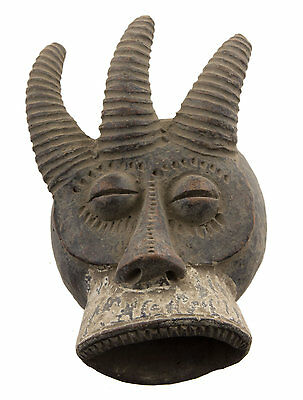 Mask African Passport Miniature Divination Zoomorphic Fetish 6485 B4MB