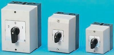 3 Pole Enclosed Non Fused Isolator Switch, 63 A, IP65