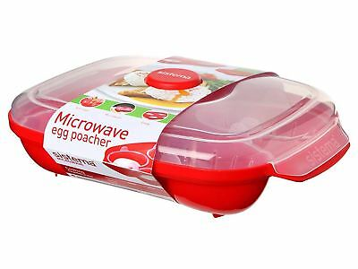 Sistema Microwave Egg Poacher Poach Cup Mould Pod Healthy Cooking Kitchen Gadget