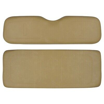 EZGO Golf Cart Rear Seat Cushion Set Fits Medalist TXT ST MPT Models TAN 1994+