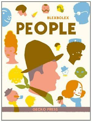 People by Blexbolex Book The Cheap Fast Free Post