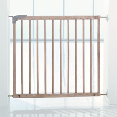 NEW BABYDAN MULTIDAN WOODEN SAFETY STAIR GATE (79 - 113.5cm)
